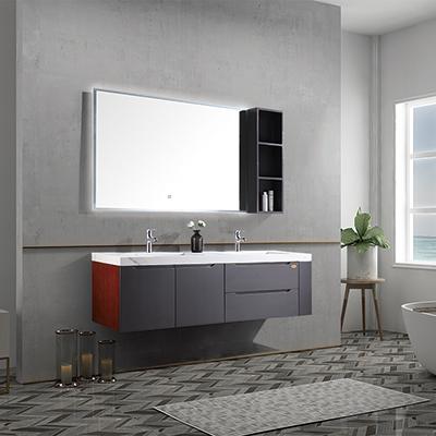 浴室柜要和卫生间的装修风格相搭配
