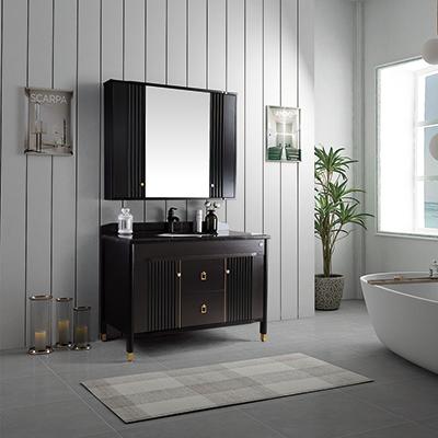 ZM-22001 轻奢浴室柜 轻奢浴室柜订制 山东浴室柜定制