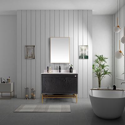 ZM-22003 极简轻奢浴室柜 新款轻奢浴室柜定制