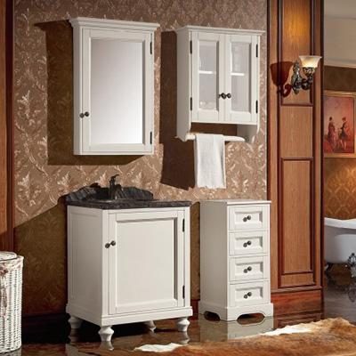 ZM-88089 组合型美式浴室柜 多功能美式柜 美式浴室柜品牌
