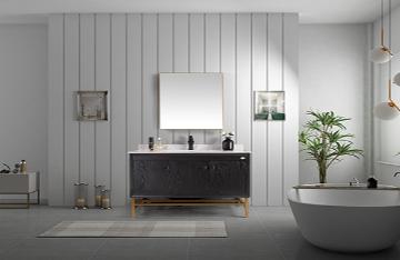 山东轻奢浴室柜分为哪几类?浴室柜尺寸一般多大合适?