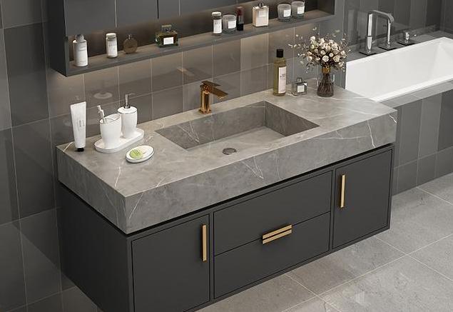浴室柜定制台面什么材质比较好?