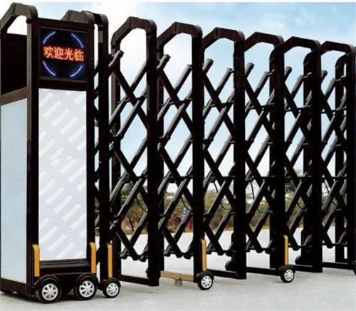 电动伸缩门的安装与调试