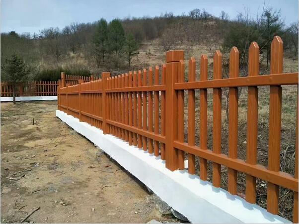 商丘仿木护栏安装