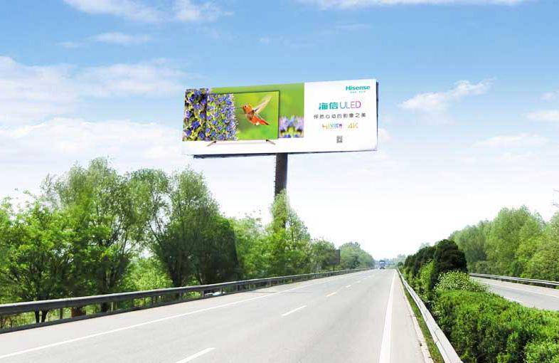 一路美广告为你介绍西藏高炮广告牌的优势
