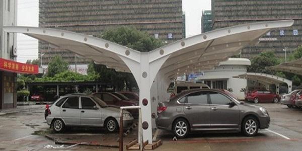 银川钢结构停车场