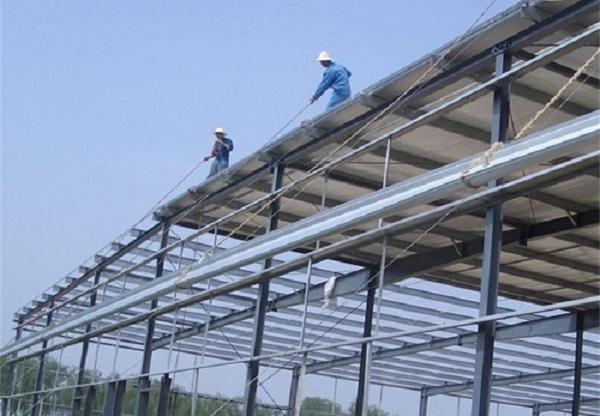 钢结构厂房施工流程中出现的问题一定要留意