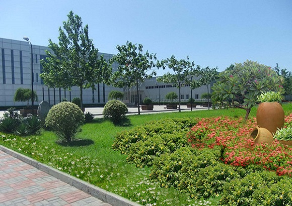 厂区绿化设计
