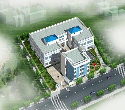 办公厂区景观设计案例