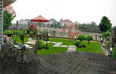 庭院别墅绿化工程