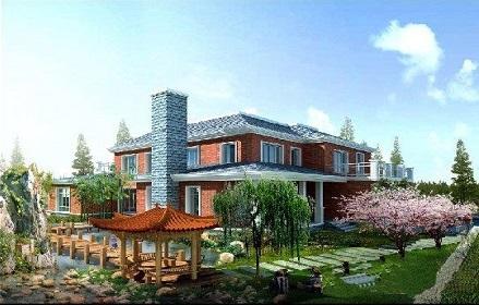 庭院别墅绿化施工
