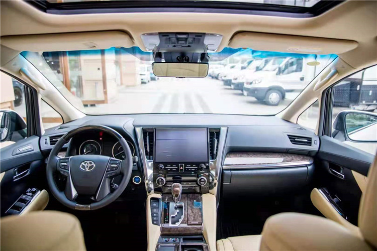 2021款丰田皇冠威尔法2.5L双擎HV至尊版商务车