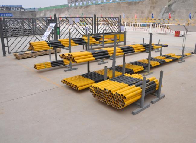 钢管堆放架图例