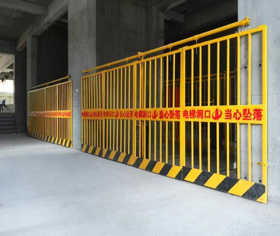 施工电梯门(外)图例