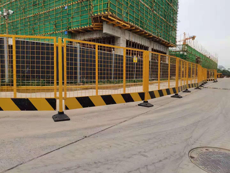 基坑临边防护施工