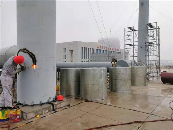 长庆、咸阳助剂厂排烟囱噪音治理