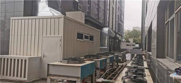 长庆苏里格大厦职工食堂油烟系统降噪