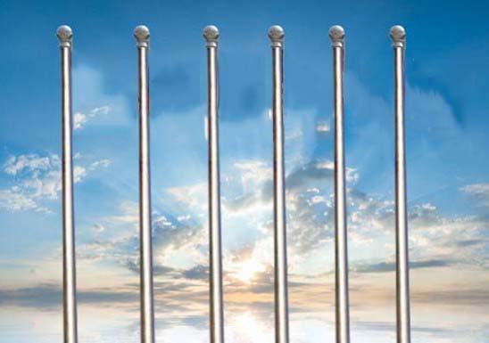 锥形旗杆的安装过程中有哪些注意事项呢