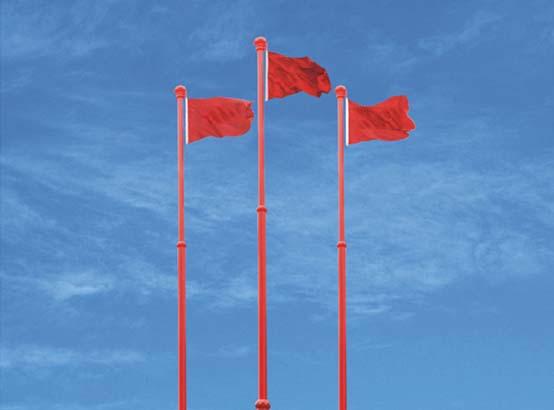 对于鹤壁旗杆间距有明确标准吗