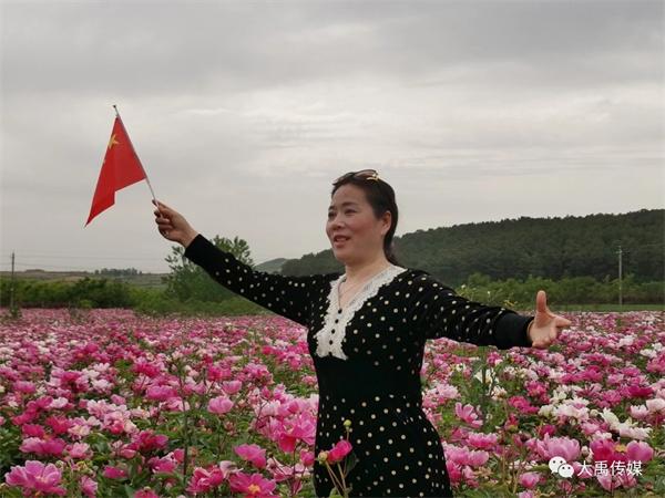 大禹傳媒創意組赴竹溝中藥材科技產業園采風