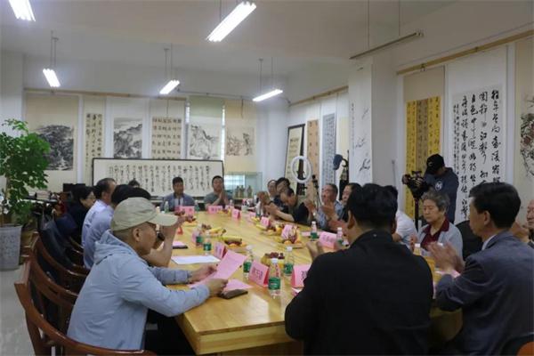 大禹傳媒與書畫院簽約儀式