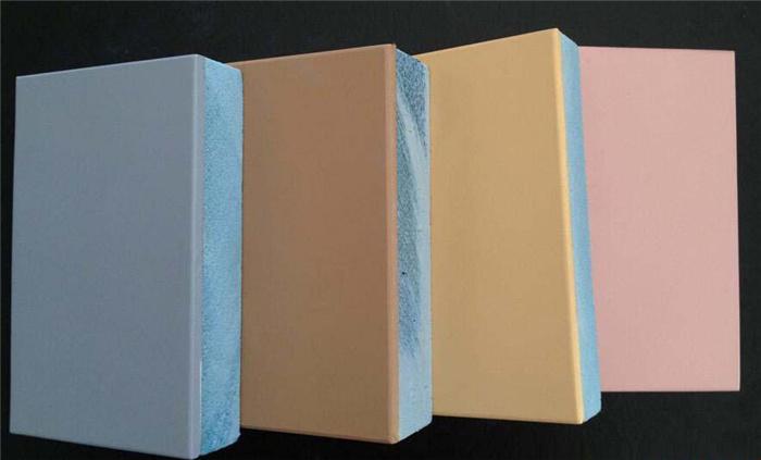 氟碳实色漆保温一体板