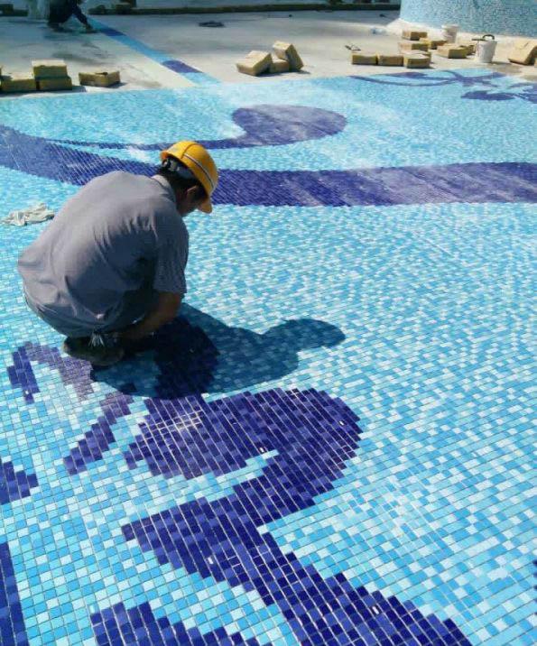 泳池专用地坪