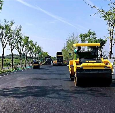 兰州沥青道路摊铺工程