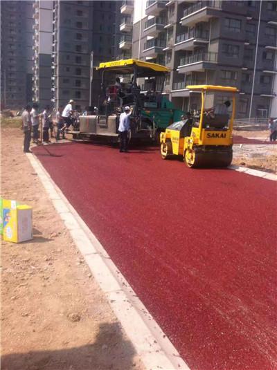 咸阳彩色沥青路面施工