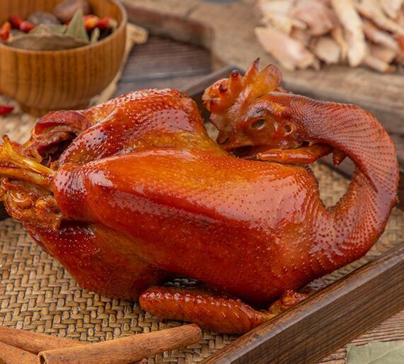 卓资山熏鸡起源