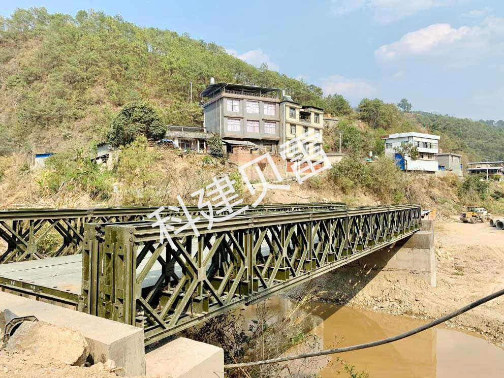 云南交投阳光道桥集团24米便桥