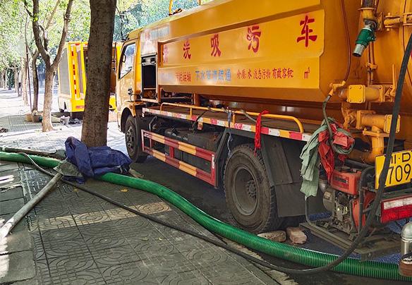 攀枝花下水道疏通清理案例