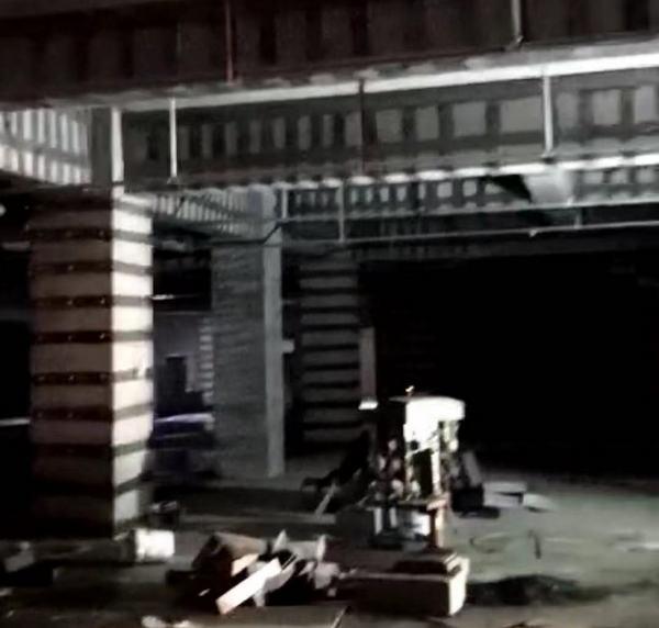 新密金密洋地下室加固案例
