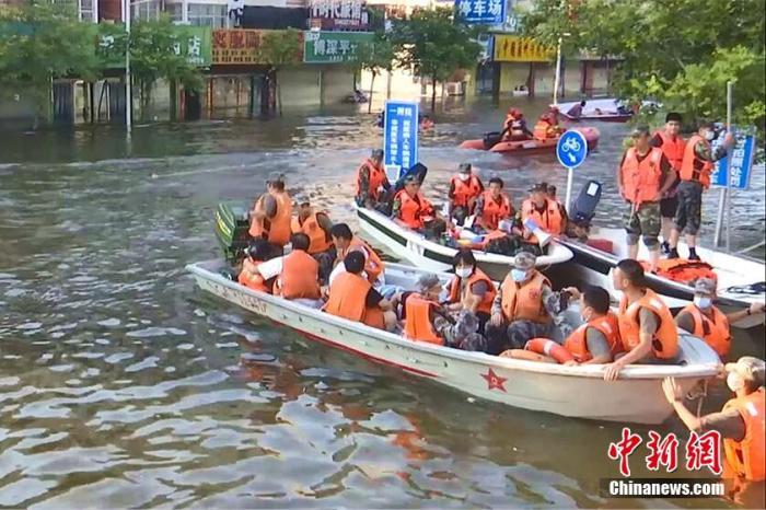 财政部、应急管理部向河南预拨10亿元防汛救灾