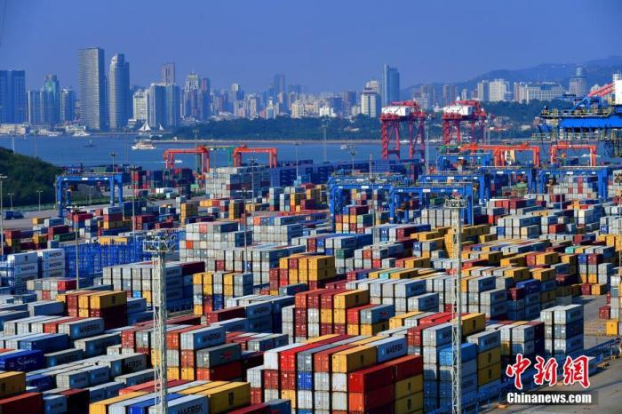 2021年上半年中国外贸进出口总值同比增长27.1%