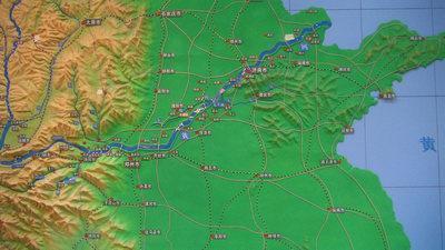 地形模型设计制作的技术情况展示