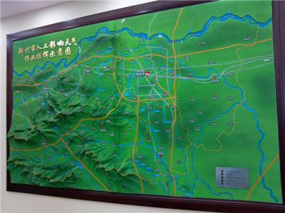 三鼎景区模型展示
