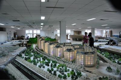 房地产模型的制作过程