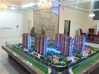 郑州三鼎模型告诉你沙盘模型的色彩的选择和使用