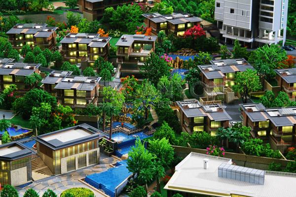 河南地形模型