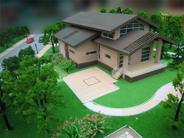园林沙盘模型