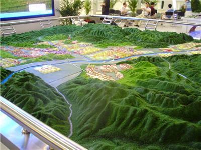 河南地形景观沙盘模型
