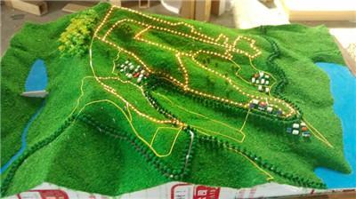 地形景观沙盘模型