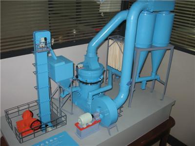厂矿机械模型