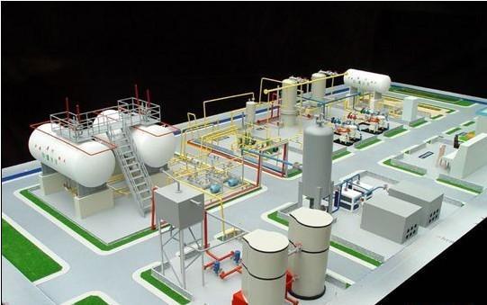 河南厂矿机械模型