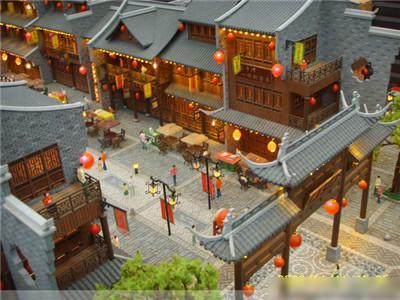 河南古建筑模型