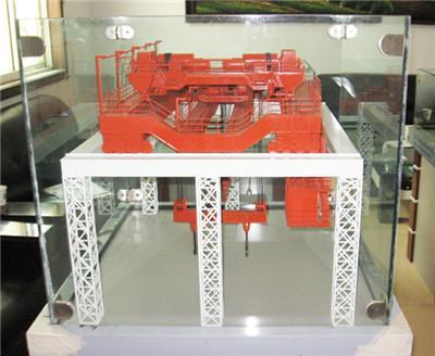 郑州厂矿机械模型