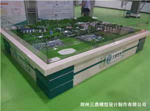 工厂机械模型