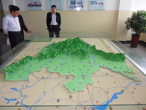 河南山体模型加工