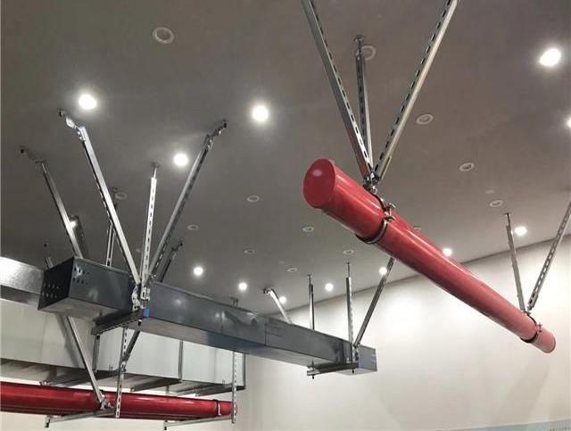 宜宾抗震支架在厂房使用中质量控制方法介绍